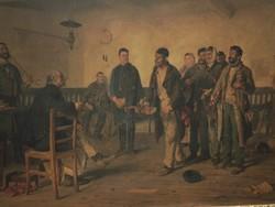 Bihari Sándor (1855-1906) : Bíró előtt