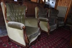 Antik bútor - ülőgarnitúra szett