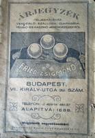 ÁRJEGYZÉK 1888 KÁVÉHÁZ VENDÉGLŐ SZÁLLODA CUKRÁSZDA PENZIÓ KASZINÓ BILLIÁRD BERENDEZÉS GASZTRONÓMIA