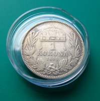 Ferenc József - 1 Korona 1895 K-B  - patinával
