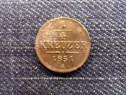 Ausztria Ferenc József réz 1/2 Krajcár 1851 A/id 10330/