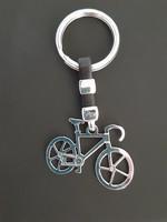 925 ezüst bicikli, kerékpár kulcstartó, nem használt!