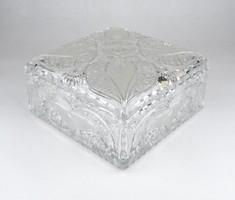 0X741 Hatalmas ólomkristály bonbonier ~ 3kg