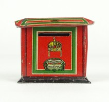 0X763 Magyar Királyi Posta pléh postaláda persely
