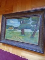 Szontágh Tibor (1873-1930) szignózott festmény
