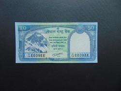 50 rupia 2015 Nepál UNC !