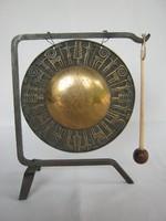 Tungsram iparművész réz gong