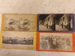 Sztereó fotók a 19. sz második feléből
