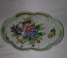 Hibás herendi porcelán tál . Mérete:14x8 cm