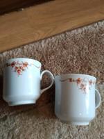 Csodaszép kávés csésze párban