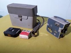 Pentacon Pentaflex 8 film felvevő videókamera hatvanas évek