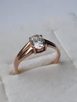 14 karátos orosz arany gyűrű