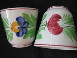 2 db Opaque de Sarreguemines csésze egyben