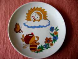Retro  gyerek, mese tányér Kahla