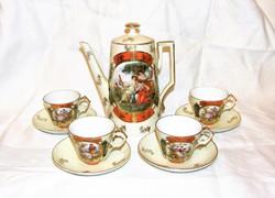 Kávéskészlet 4 sz. Viktória porcelán Karlsbad