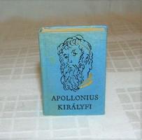 Apollonius Királyfi mini könyv