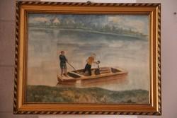 Kapussy György - Csónakázás