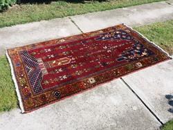 Régi anatóliai szőnyeg, imaszőnyeg, faliszőnyeg