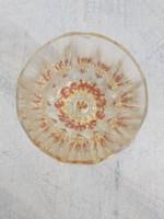Antik biedermeier címeres pohár.
