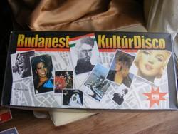 Budapest Kultúr Disco retro társasjáték