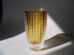 Gyönyörű Ingrid glass váza (sorszámozott, jelzett)