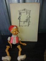 Pinokkió Kalandjai 1967 És Egy Pinokkió Figura