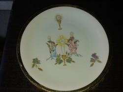 Gyönyörű Antik Porcelán Dísztányér