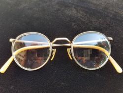 Antik aranyozott szemüveg