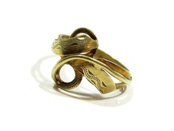 Arany gyűrű(Kecs-Au78936)