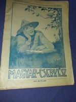 Magyar cserkész 1927 május ifjúsági újság magazin