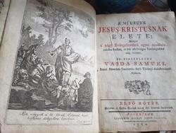Vajda Sámuel: A mi urunk Jesus Kristusnak élete 1772