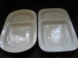2 db Lilien osztott tányér, tál