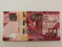 Kenya 50 Shilingi UNC 2019