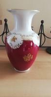 Reichenbach német porcelán váza