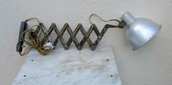 Loft nyers olló ill. harmonika lámpa