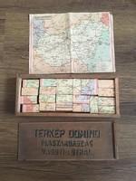 Régebbi Magyarország térkép dominó