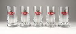0P526 Royal Vodka pohár készlet 5 darab