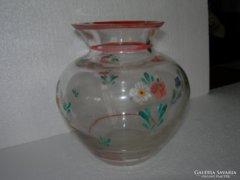 Antik üveg váza