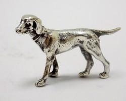 Ezüst vizsla miniatűr figura (ZAL-BI37492)