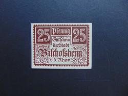 25 pfennig 1920 Hajtatlan bankjegy