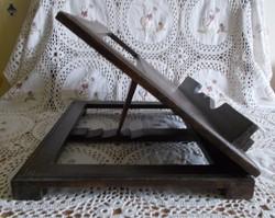 Fa szakácskönyv tartó, újság, könyvtartó