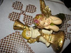 2 angyalkás gyertyatartó
