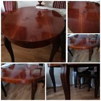 Neobarokk 6 személyes asztal
