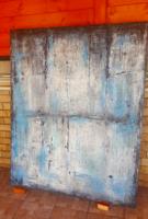 Szalai Krisztián : Naivitás. Absztrakt , modern olajfestmény 120x150cm , művésztől.