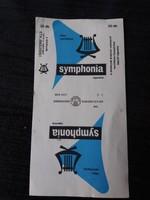 Régi Symphonia Cigarettás Papír