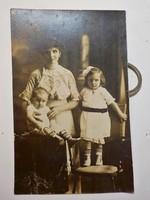 Családi fotó , gyermek 1920-as évek