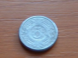 HOLLAND ANTILLÁK 5 CENT 2001  ALU. KICSI 16 mm #
