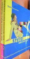 Szűr Krisztina:Stylist kézikönyv 1-2.9000.-Ft