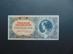 10000 milpengő 1946 A 049 aUNC ! Hajtatlan bankjegy