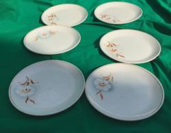 Kispesti Gránit szegfűs süteményes szett 6 darab